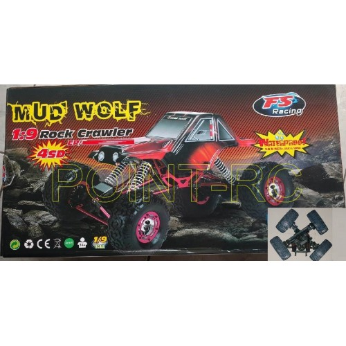Automodelo MUD WOLF  Rock Krawler
