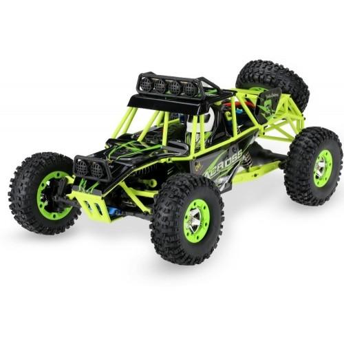 Automodelo  Carro Controle Remoto 45km/h 4x4 Wltoys 12428 1:12 C/ Leds crawler