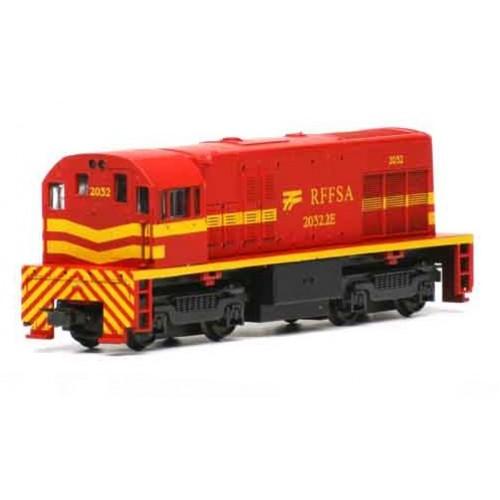 Trem elétrico locomotiva GE U5B RFFSA